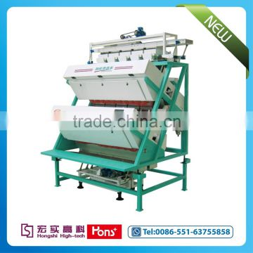 New intelligent CCD color sorter machine for tea from China Hons+
