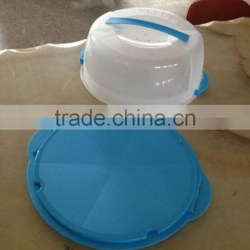 37x33.5x14cm Plastic Cake carrier with handle