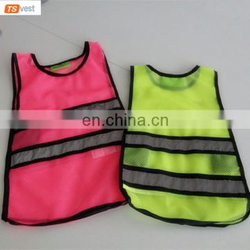 BSCI Audit supplier Kids Mesh Reflective Safety Jacket