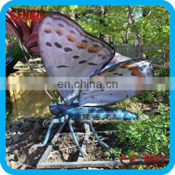 High quality carnival equipment butterflies animatronic model