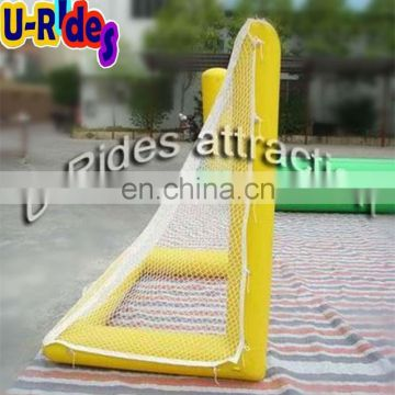 PVC Seaside inflatable water Goal gate sports games