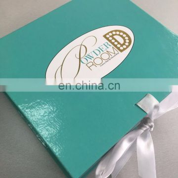 2017 New custom size and design folding box with custom logo