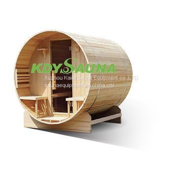 Traditional design mini Solid wood sauna room factory made sauna steam room