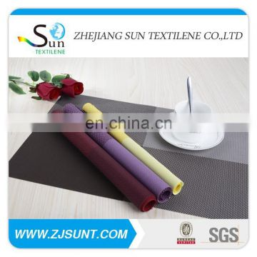 Hot sale colorful PVC placemat in 2015
