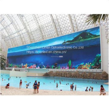 P4mm IP68 Waterproof Outdoor led display screen, Energy Saving Outdoor Waterproof led screen