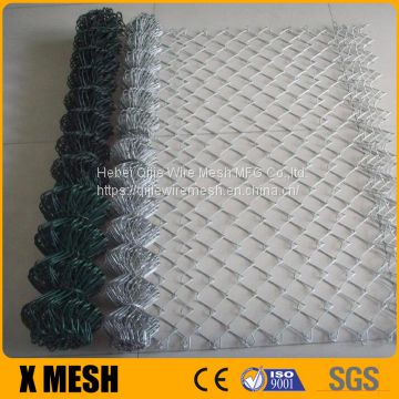 Chain Link Fence for Sale, Fence Made of PVC Coated Chain Link Fence System