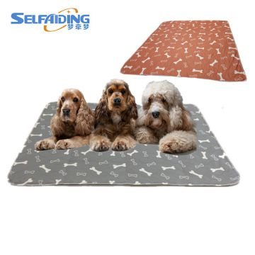 Washable Dog Pee Pads Waterproof Whelp Pet Mats Reusable Puppy Training Pads for Dog