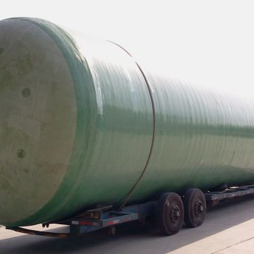 Anaerobic Waste Water Treatment Corrosion Resistant Tanks Fiberglass Chemical Storage Tanks