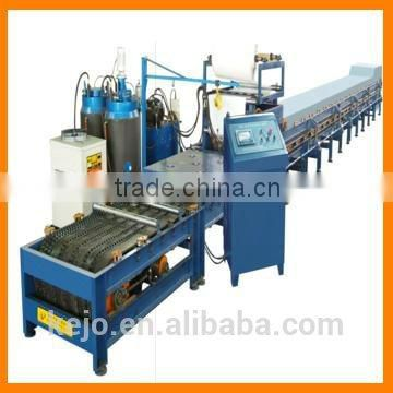 PU foam roll forming machine , PU sandwich panel production line, PU continuous sandwich panel production line