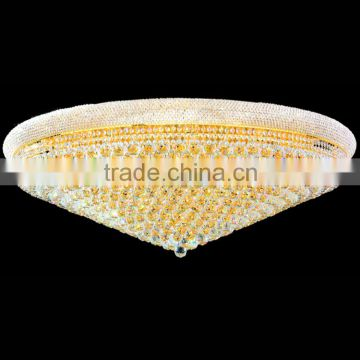 1.2m diameter large size chandelier crystal ceiling lamp