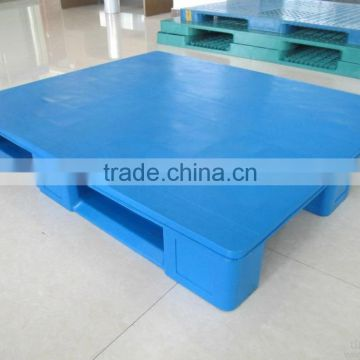 HDPE Or PP Rack Factory Euro Plastic Pallet Mesh Three Skids in warehouse