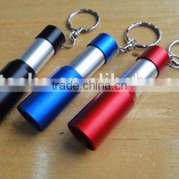 Promotional mini LED flashlight with key Chain
