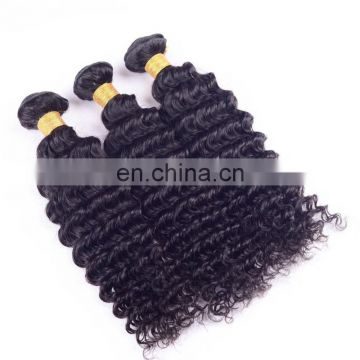 Hot sale quality deep wave indian hair weave