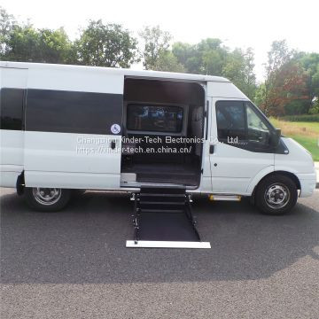 MINI-UVL Wheelchair lifts for side door of Ford Transit