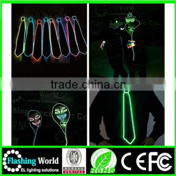 various styles various styles el sound activated electronic flashing dj's tie