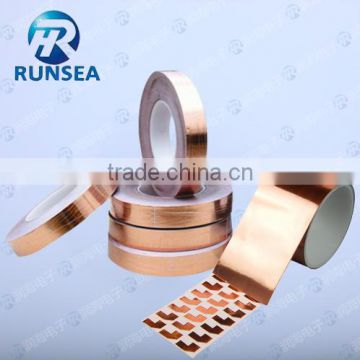 Anti-static Copper foil adhesive tape/copper tape/Conductive Copper tape