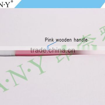 ANY Cheap Price Pink Wood Handle Nail Art Beauty Care 3D Art Pen Brush