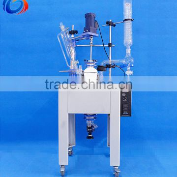 20L Best Choice Glass Reaction Vessel For Lab Mixing Equipment