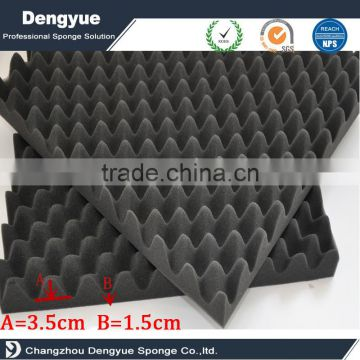 breathable 10 years high quality wave shaped sound