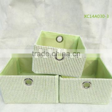fashion paper storage basket and laundry