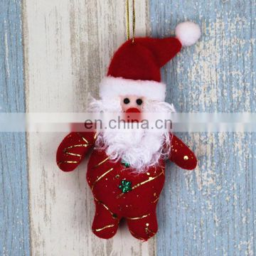 Santa Claus Tree Decoration Cute Christmas Hanging Ornament Snowman Pendant