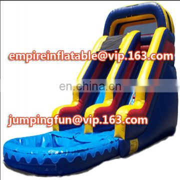 Exciting medium size commercial inflatable water slide ID-SLM072