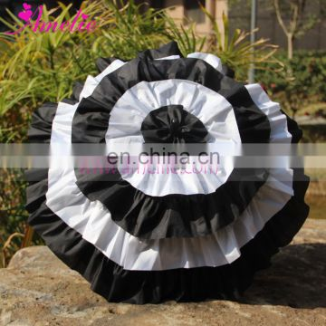 White/Black Color Madness Cosplay Ladies Frill Umbrella Parasol
