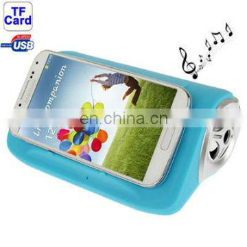 Beautiful style mini amplifier speaker Mobile Interaction Amplifying Speaker for Samsung Galaxy S IV
