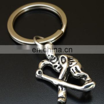 Good quality Cheap Customized 3D sports game key ring