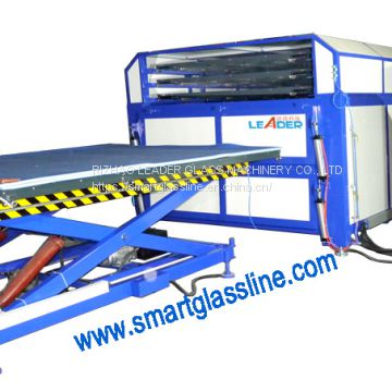 Stainless Steel Four Layers Laminated Glass Oven Glass Laminating Ove