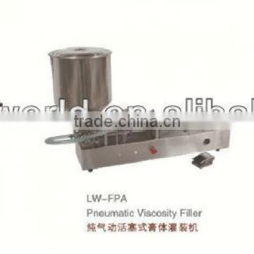 Semi-automatic Stainless steel cosmetic filling machine