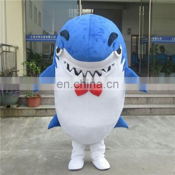 2017 Hot sales shark mascot costume for adult