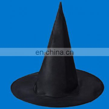 Adult Womens Black Witch Hat For Halloween Costume