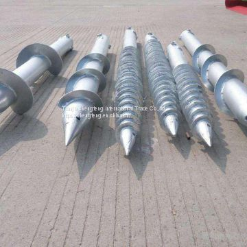 Professional Enterprise Galvanized Standard Ground Piles For Umbrellas