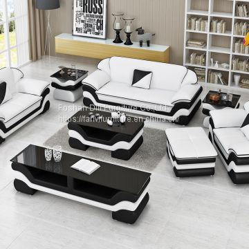 European Design Leather Sofa Set