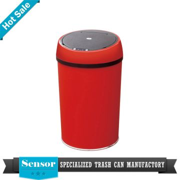 High quality promotional sensor dustbin stainless steel garbage bin sensor waste bin