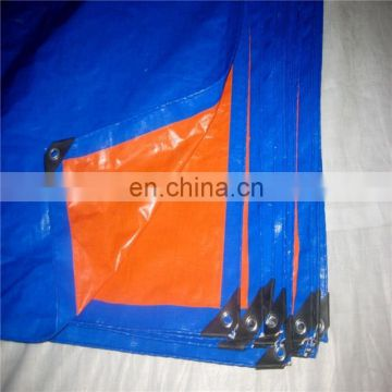 2x100M 190gsm Blue/Orange PE Tarpaulin Rolls