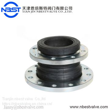 DN32 PN16 Neoprene Reducer Rubber Bellows Expansion Flexible Joint Coupling