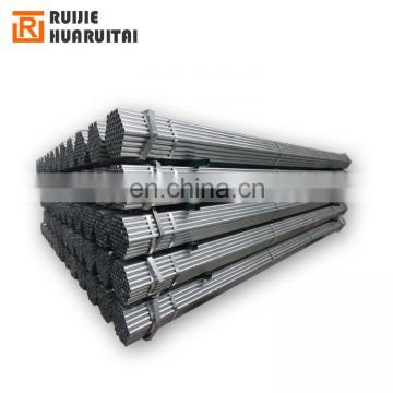 Farm greenhouse construct galvanized steel pipe, 48mm Diameter round steel tubes