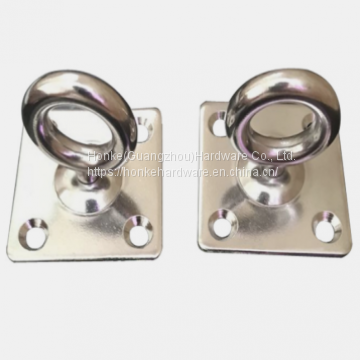 For Sail Boats & Yachts Stainless Steel Square Pad Swivel Eye Plate HKS3216