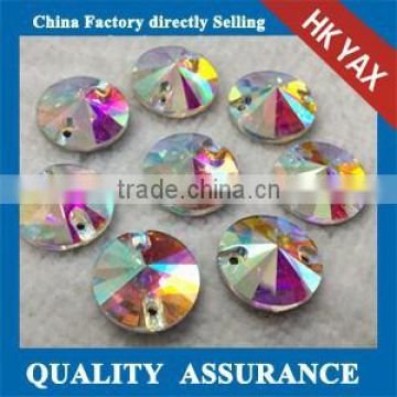 0522C Factory China sew on crystal beads, crystal beads sew on for garment, sew on crystal beads for dress