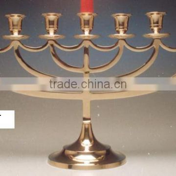 Menorah, judaica,candle holders,decorative candle holder,brass candle holder,candles holders, menorah candle holder