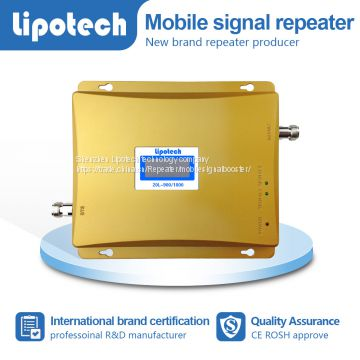 GSM/LTE 2G 3G 4G mobile phone covers home use dual band 900/2600mhz repeater