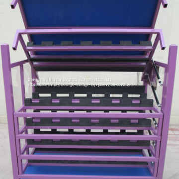 Heavy Duty Automobile Spare Parts Pallet Rack Customized White