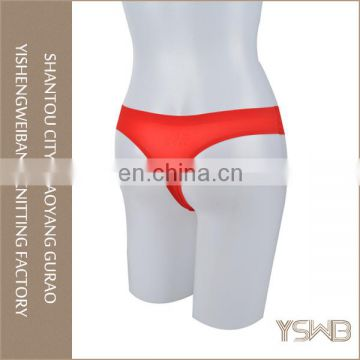 Anti-bacterial breathable plain dyed silk girls oem panty