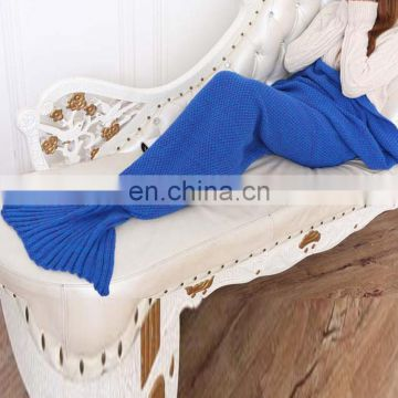 Wholesale factory price leisure mermaid tail blanket for girl women