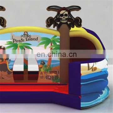 2017 new design Pirate Inflatable bounce house Combo, hot sale inflatable pirate ship