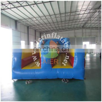 2017 Aier best selling inflatable sport game/double lanes for racing