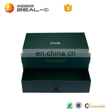 10% Discount Big Size for Multi Design Drawer and Magnet Box For Cup Set Packing With Dark Green Color