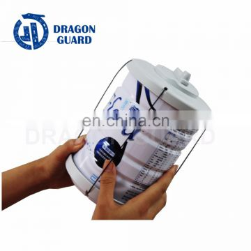 DRAGON GUARD Supermarket eas safer milk security protection 58khz milk can security caps